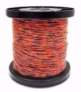 Fio Jumper Preto/laranja 50x2 (bobina C/ 500m)