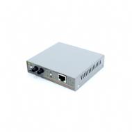 Conversor FO/MM/ST P/ UTP/RJ45 100mbps