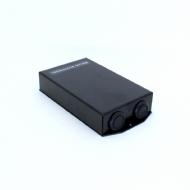 Terminador Optico 08 Fo (cx De Emenda Metalica) - Preto