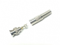 Conector Bnc Macho Mola/parafuso P/ Cabo 4mm