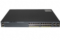 SWITCH 24P 10/100/1000 POE (370W) +4 X 1G SFP LAN BASE