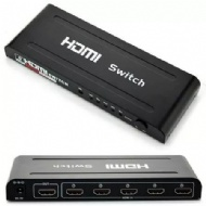 SWITCH HDMI 5 ENTRADAS 1 SAIDA FULL HD 1080P