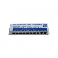 PATCH PANEL 5P 10/100 POE