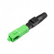 Conector Fast Sc/apc Verde