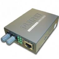 Conversor Fo/mm/st P/ Utp/rj45 10/100 Mbps