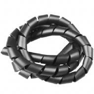 Espiral Plastico 3/4pol Preto