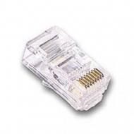 Conector Rj45 Macho Cat.5e 8v Solido (pac. C/ 100 Pecas)