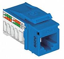 Conector Rj45 Femea Cat.6 T568a/b Azul Gigalan