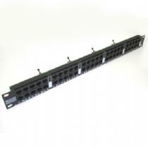 VOICE PANEL 50P RJ45 2PARES IDC 19POL X 1U