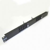 VOICE PANEL 20P RJ45 2PARES IDC 19POL X 1U